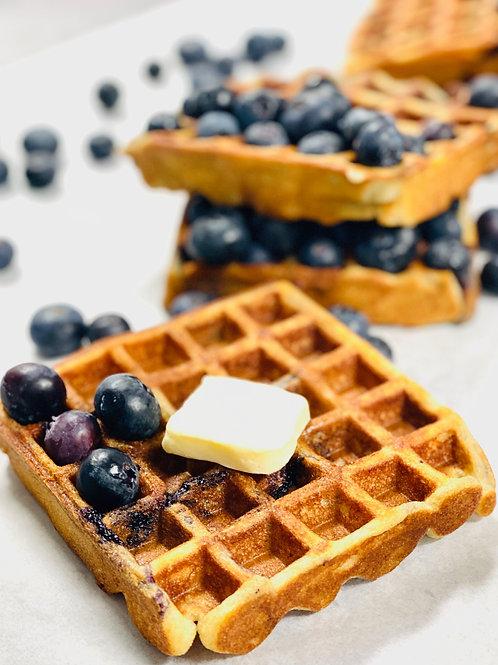 Belgian Blueberry Waffles