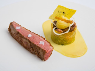 Edinburgh Evening News 42 - Roasted Duck Breast, Parsnip and Orange Purée