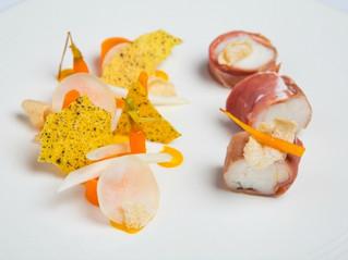 Edinburgh Evening News 39 - Parma Ham Wrapped Monkfish Tail