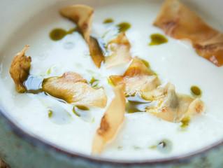 Edinburgh Evening News 16 - Celeriac Soup with Celeriac Crisps and Parsley Oil