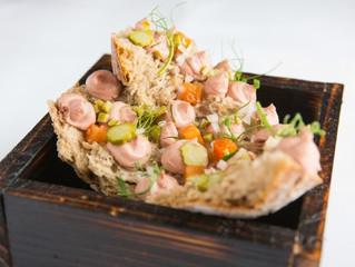 Edinburgh Evening News 35 - Chicken Liver Pâté, Pickled Plums on Toast
