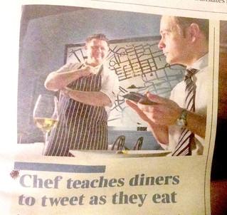 Tweet What You Eat Workshop