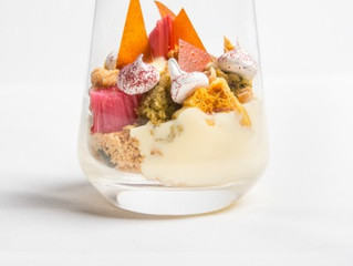 Edinburgh Evening News 41 - 'Posh' Rhubarb Trifle