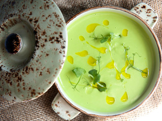 Edinburgh Evening News 7 - Pea Veloute