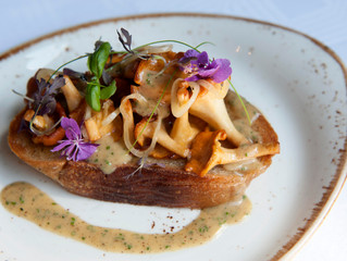 Edinburgh Evening News 6 - Scottish Mushrooms on Toast
