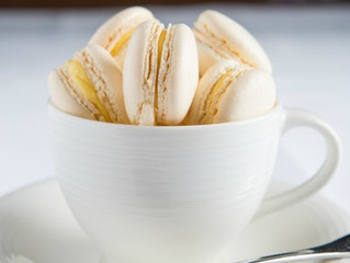 Edinburgh Evening News 36 - Macaroons with Passion Fruit Curd