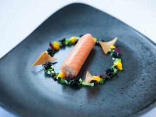Edinburgh Evening News 15 - Smoked Salmon Cannelloni with Sauce Gribiche