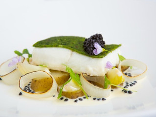 Edinburgh Evening News 49 - Oven Baked Halibut with a Mull of Kintyre Cheddar and Parsley Crust
