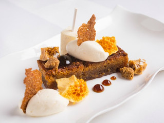 STV Edinburgh: Treacle Tart, Honeycomb, Vanilla Cream Recipe