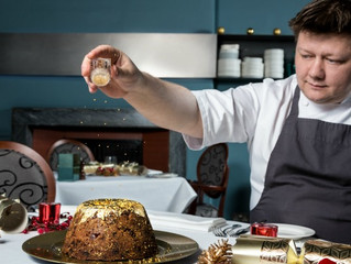 A Christmas Pudding fit for a millionaire