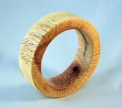 Macadamia nut wood bracelet