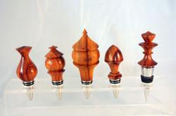 rosewood botttle stoppers