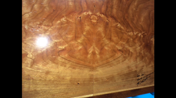 Marquetry serving tray (back)