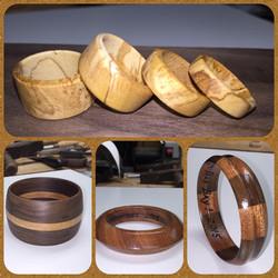 Olive rings & various braclets