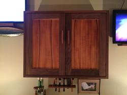 Makore & Walnut Cabinet
