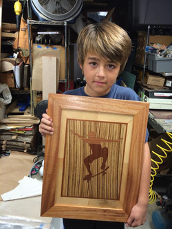 Jonah's Marquetry