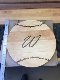 Baseball Cutting Board
