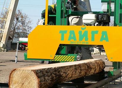 Ленточная пилорама «Тайга Т-1Б»