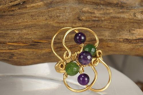 Jade/Amethyst Ring
