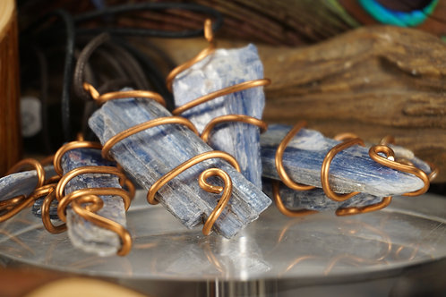 Kyanite Stone Necklace