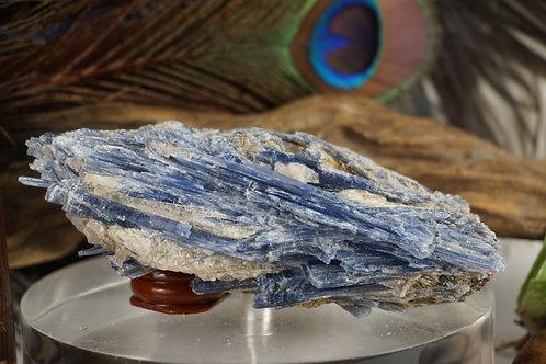 Kyanite with Garnet dusting
