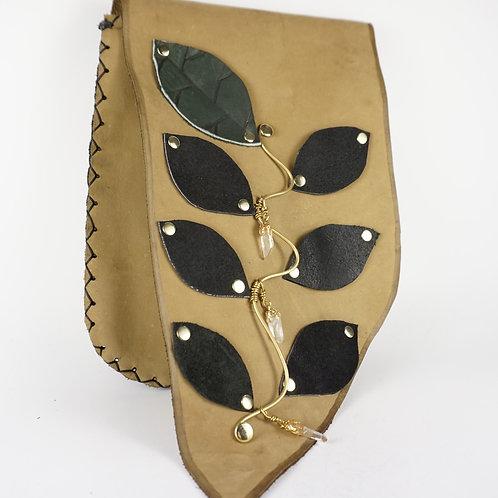 Leather Vine Bag