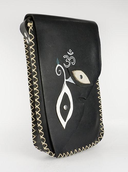 Leather Om Bag