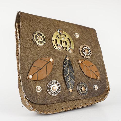 Leather Steampunk Bag