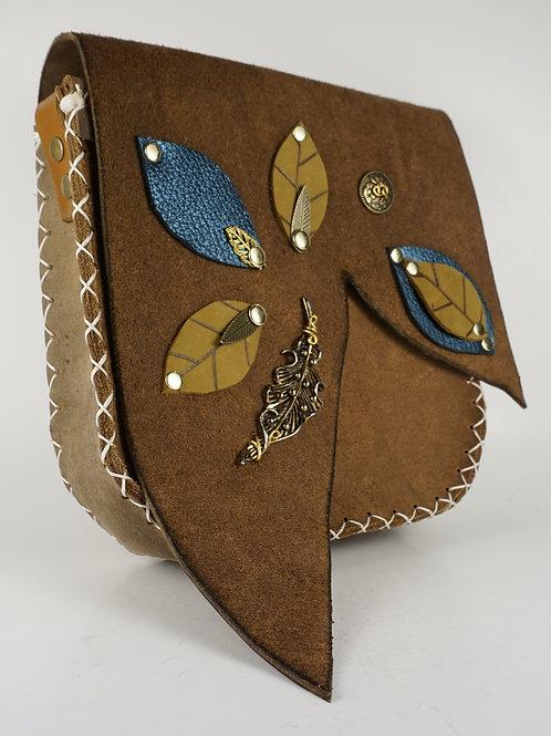 Leather Leaf Bag