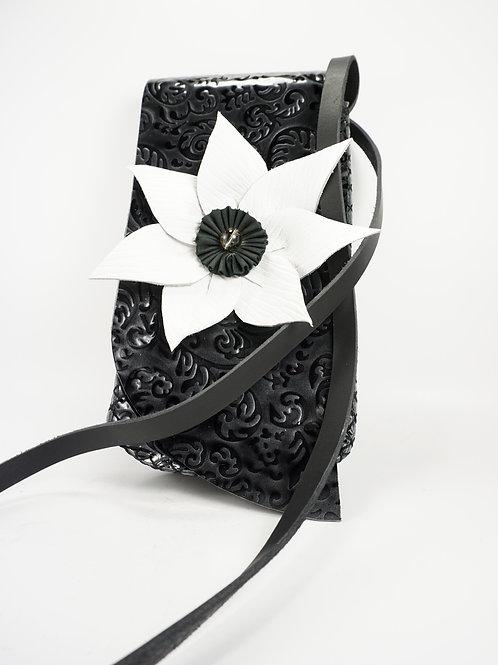 Leather Flower Bag