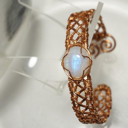 Braided Bracelet w/ Stone