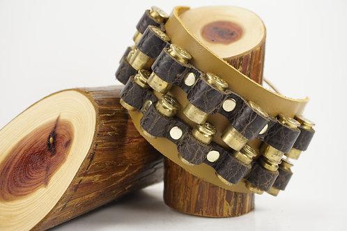 45/40 Cal Double Bullet Bracelet