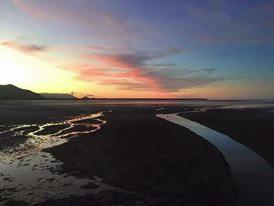 Working holiday visa australian sunset