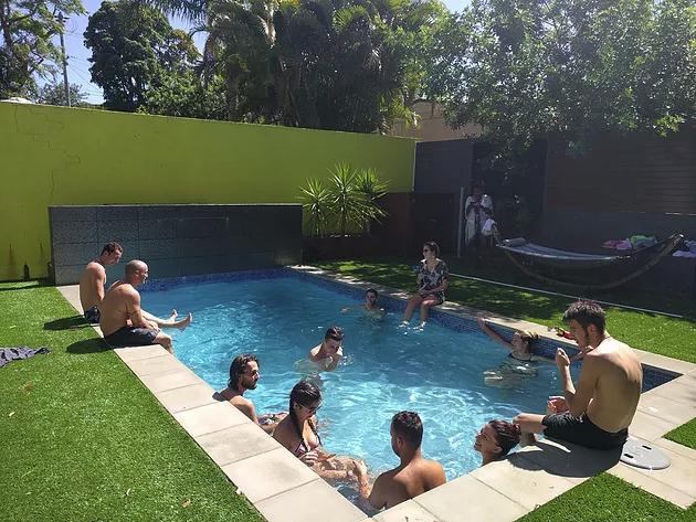 Pool party brisbane backpackers
