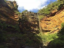 Working holiday visa waterfall