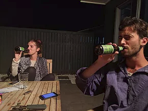 Awesome backpacker bbq drinks