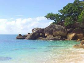 Working holiday visa magical beach