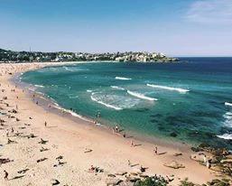 Working holiday visa beautiful beach