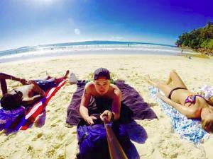 Brisbane beach life