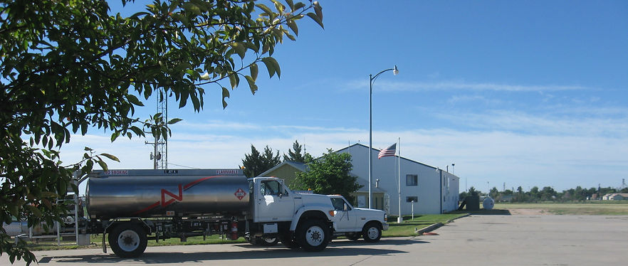 FBO in Akron, CO servicing aircraft with fuel, maintenance and paint.