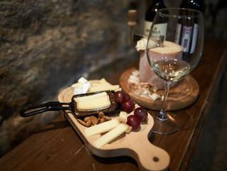 Фотоотчёт о прошедшей дегустации вин и сыров