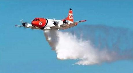 Air tanker demonstrations for media plan