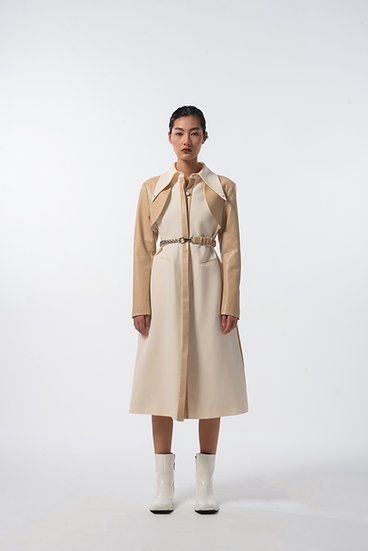 Jljp Vegan Leather Coat