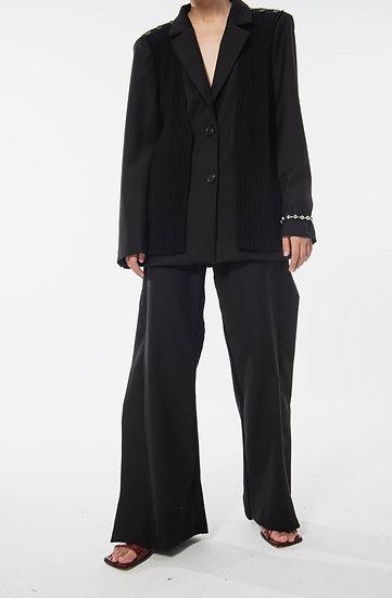 Black Mzpi Trousers