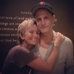 Woody Harrelson and Yvonne Monet 2014 Af