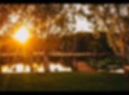 Bredls Farm Lake at sunset