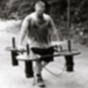 Professional Heavyweight Strongman Davis Diley Frame Carry
