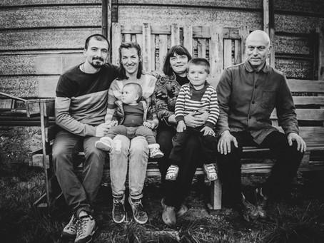 Семейна фотосесия - сем. Маринови