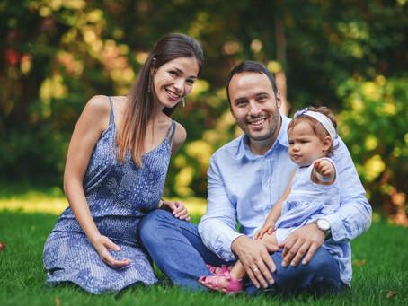 Семейна фотосесия Валя и Боян