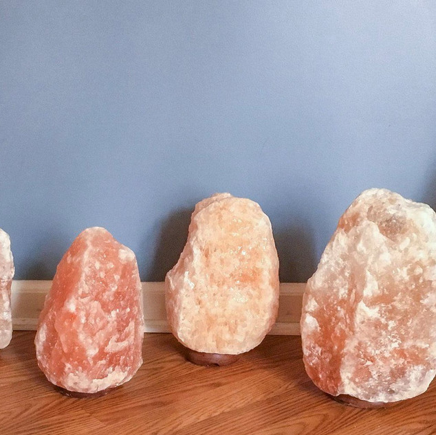 Our natural lamps come in many sizes